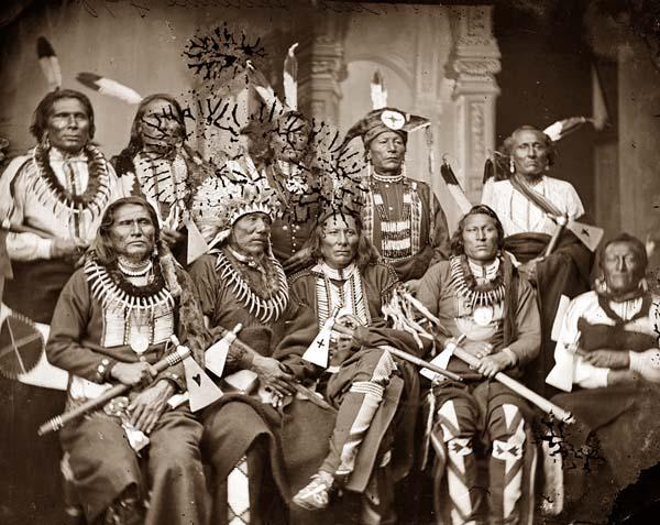 Licensed under Public Domain via Wikimedia Commons - http://commons.wikimedia.org/wiki/File:Native_American_Chiefs_1865.jpg#mediaviewer/File:Native_American_Chiefs_1865.jpg