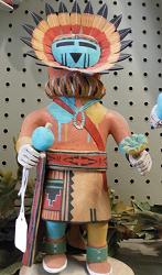 Kachina Dolls at Seven Arrows Art Gallery