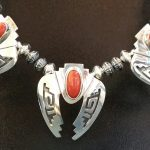 necklace-red-coral-silver-detail